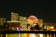 日本横滨夜景高清图片(12张)