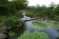 日本松江由志园风景图片(9张)