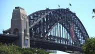 悉尼海港大桥风景图片(12张)
