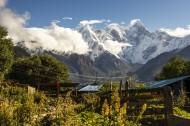 西藏南迦巴瓦峰风景图片(9张)