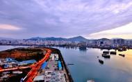 海南三亚湾风景图片(8张)