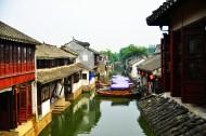 江苏苏州水乡周庄风景图片(18张)