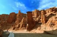 新疆托木尔大峡谷风景图片(17张)