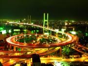上海延安路高架桥图片(15张)