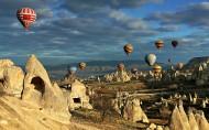 土耳其卡帕多西亚异国风情图片(7张)