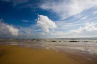 海南博鳌玉带滩图片(10张)