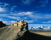西藏岗巴古堡图片(12张)