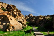 新疆怪石峪风景图片(7张)