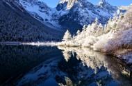 四川毕棚沟冬天风景图片(7张)