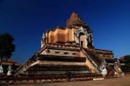 泰国清迈柴迪隆寺风景图片(11张)