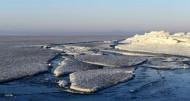 黑龙江兴凯湖冰原风景图片(9张)