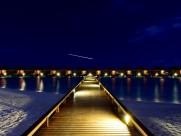 马尔代夫满月岛唯美夜景图片(7张)