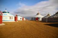 内蒙古呼伦贝尔大草原秋色风景图片(7张)