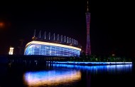 广州花城广场夜景图片(7张)