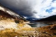 秋日下的落基山脉风景图片(18张)