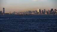 美国曼哈顿傍晚风景图片(9张)
