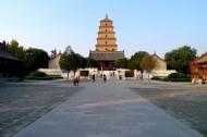 陕西西安大慈恩寺风景图片(10张)