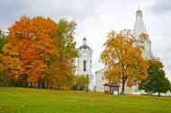 秋天的俄罗斯风景图片(18张)