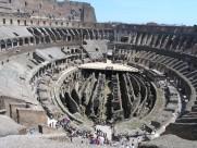 罗马斗兽场的内部风景图片(11张)