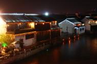 浙江嘉兴月河夜景图片(17张)