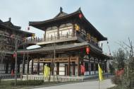陕西西安青龙寺风景图片(16张)