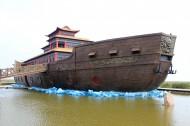 辽宁盘锦红海滩风景图片(13张)