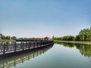 上海淀山湖水墨风景图片(9张)