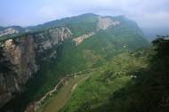 四川岔河大堰大峡谷风景图片(6张)