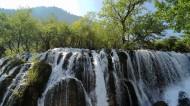 九寨沟的瀑布图片(15张)