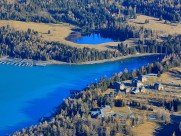 新疆喀纳斯湖风景图片(9张)