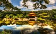 日本京都金阁寺风景图片(7张)