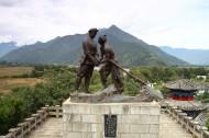 湖南湘潭长江第一湾石鼓镇风景图片(7张)