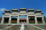 河北保定清西陵之泰陵风景图片(17张)