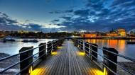 唯美的码头风景图片(13张)