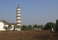浙江杭州新叶古村风景图片(14张)