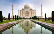印度泰姬陵风景图片(13张)