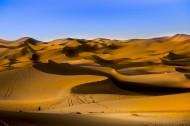 新疆库木塔格沙漠风景图片(10张)
