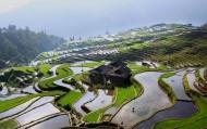贵州加榜梯田风景图片(20张)