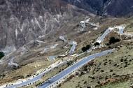 西藏怒江72拐风景图片(13张)