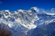 西藏南迦巴瓦峰风景图片(8张)