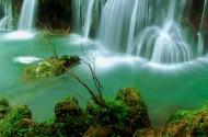 贵州天河潭瀑布风景图片(16张)