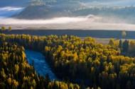 新疆阿勒泰禾木图片(41张)