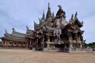 泰国芭堤雅真理寺图片(13张)