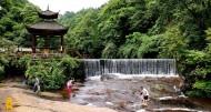 四川天台山风景图片(14张)