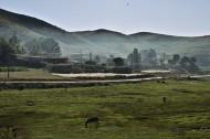 新疆牧场晨曦风景图片(8张)