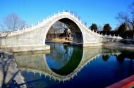 冬日的颐和园风景图片(7张)