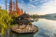 浙江杭州西湖秋天风景图片(8张)