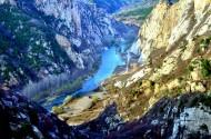北京延庆白河峡谷风景图片(10张)