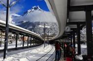 瑞士英格堡小镇风景图片(18张)