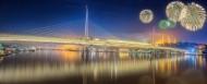 城市烟花夜景图片(21张)